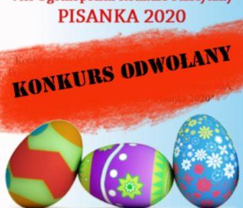 VIII Ogólnopolski Konkurs Plastyczny – Pisanka 2020 ODWOŁANY!!!