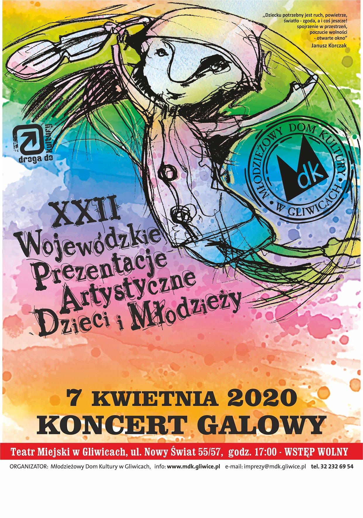 Prezentacje Artystyczne - wielkie Święto Tańca i Muzyki. Gliwice