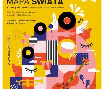 Muzyczna mapa świata – koncerty z bajką dla rodzin