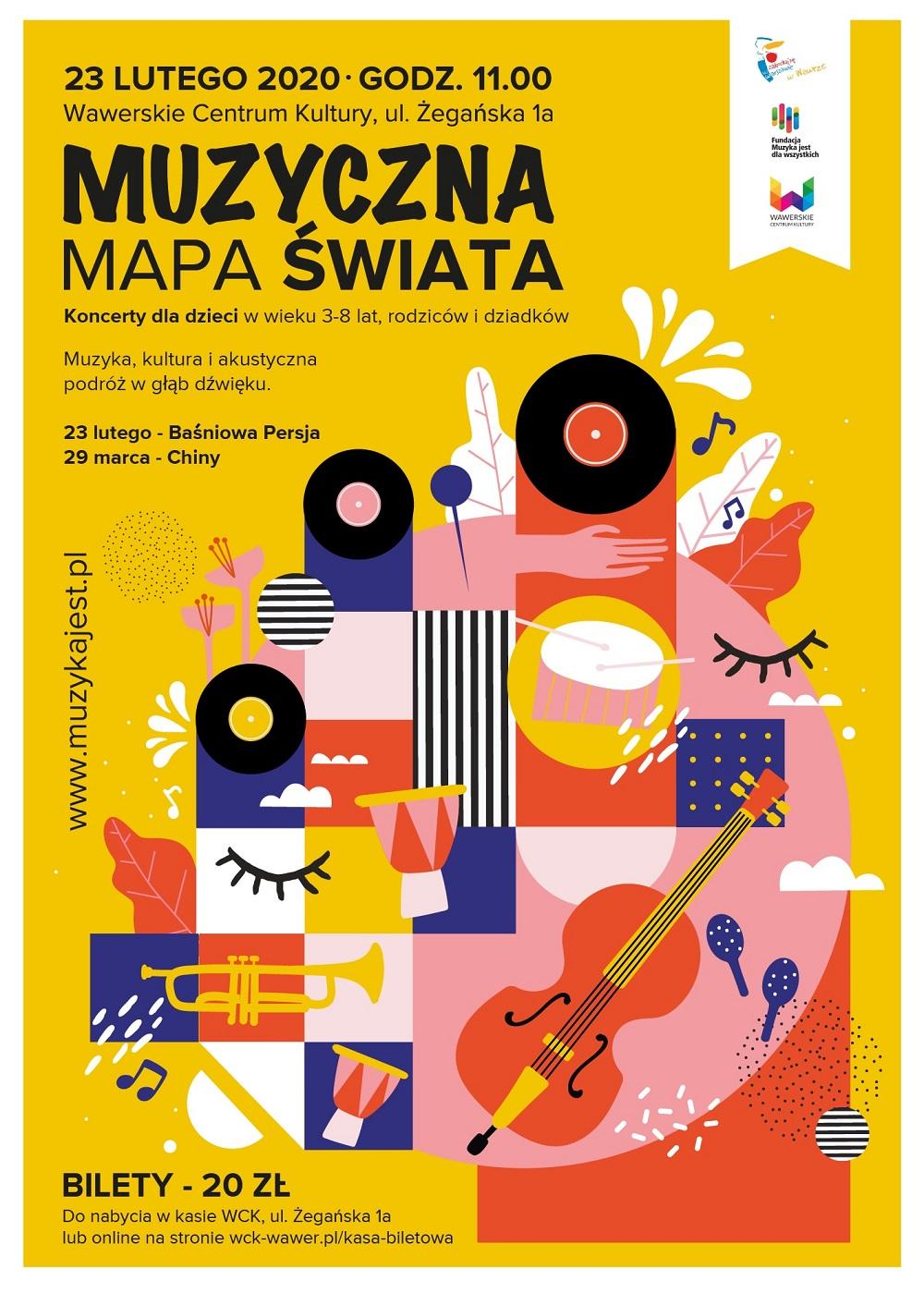Muzyczna mapa świata - koncerty z bajką dla rodzin