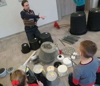 Perkusja śmieciowa – warsztaty dla dzieci