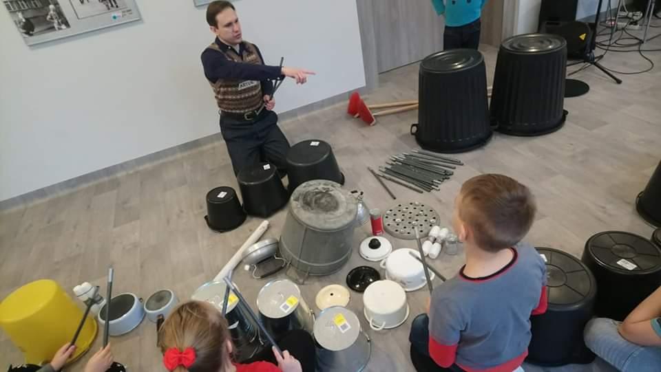 Perkusja śmieciowa - warsztaty dla dzieci