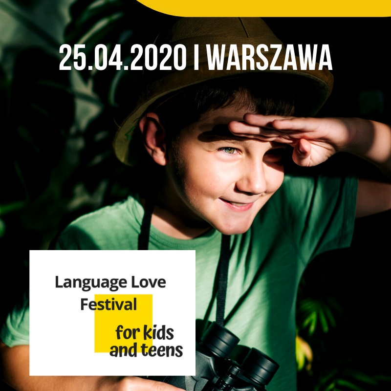Language Love Festival for kids and teens