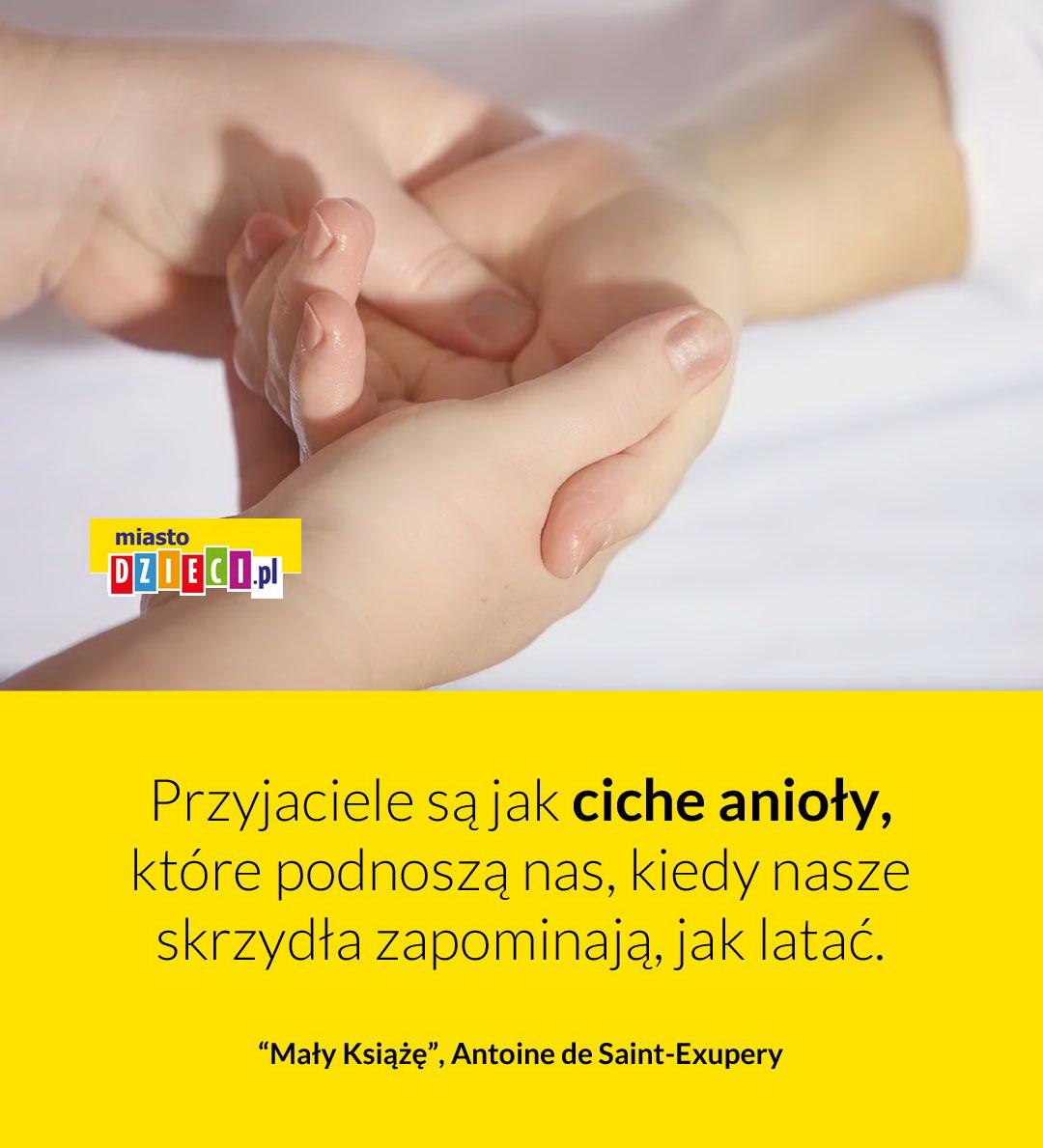 Przyjaciele są jak anioły cytaty z Małego Księcia o przyjaźni