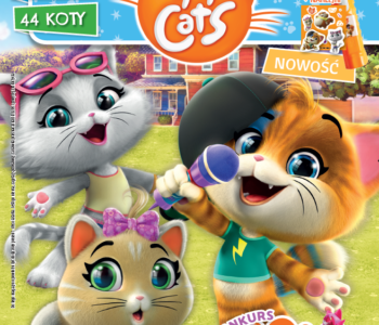 Magazyn 44 Cats dla dzieci