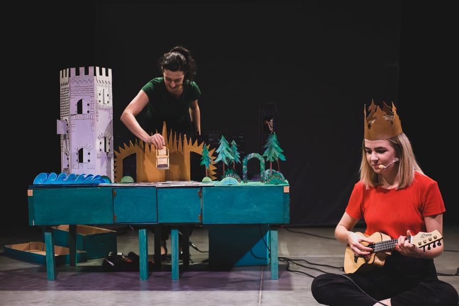Maleńkie królestwo królewny Aurelki - spektakl Teatru Figurki