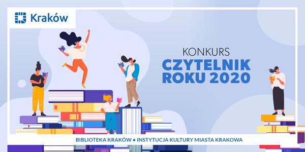 Zdobądź tytuł Czytelnika Roku 2020 w konkursie Biblioteki Kraków