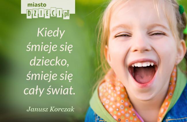 Cytaty o dzieciach kiedy śmieje się dziecko
