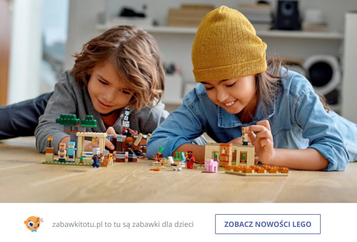 Klocki – LEGO – serie – NOWOŚCI – zabawkitotu-pl