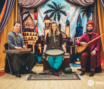 Spotkanie ze Sztuką: Księga muzyki i opowieści. Wędrówki po Bliskim Wschodzie