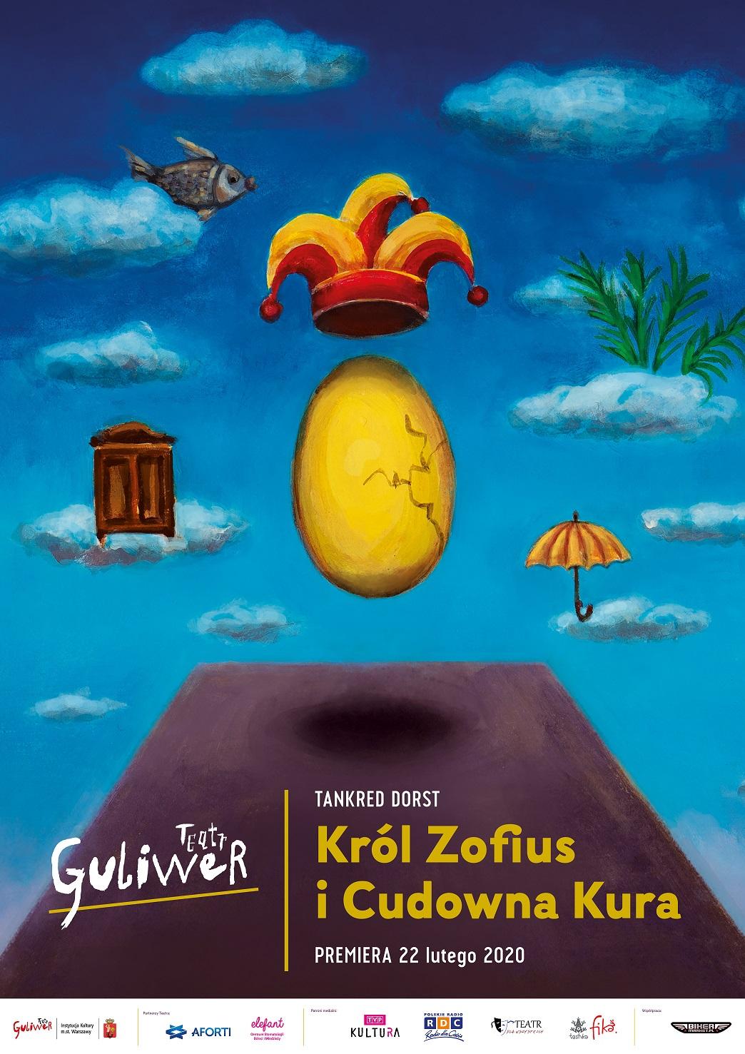 Premierowy spektakl: Król Zofius i Cudowna Kura