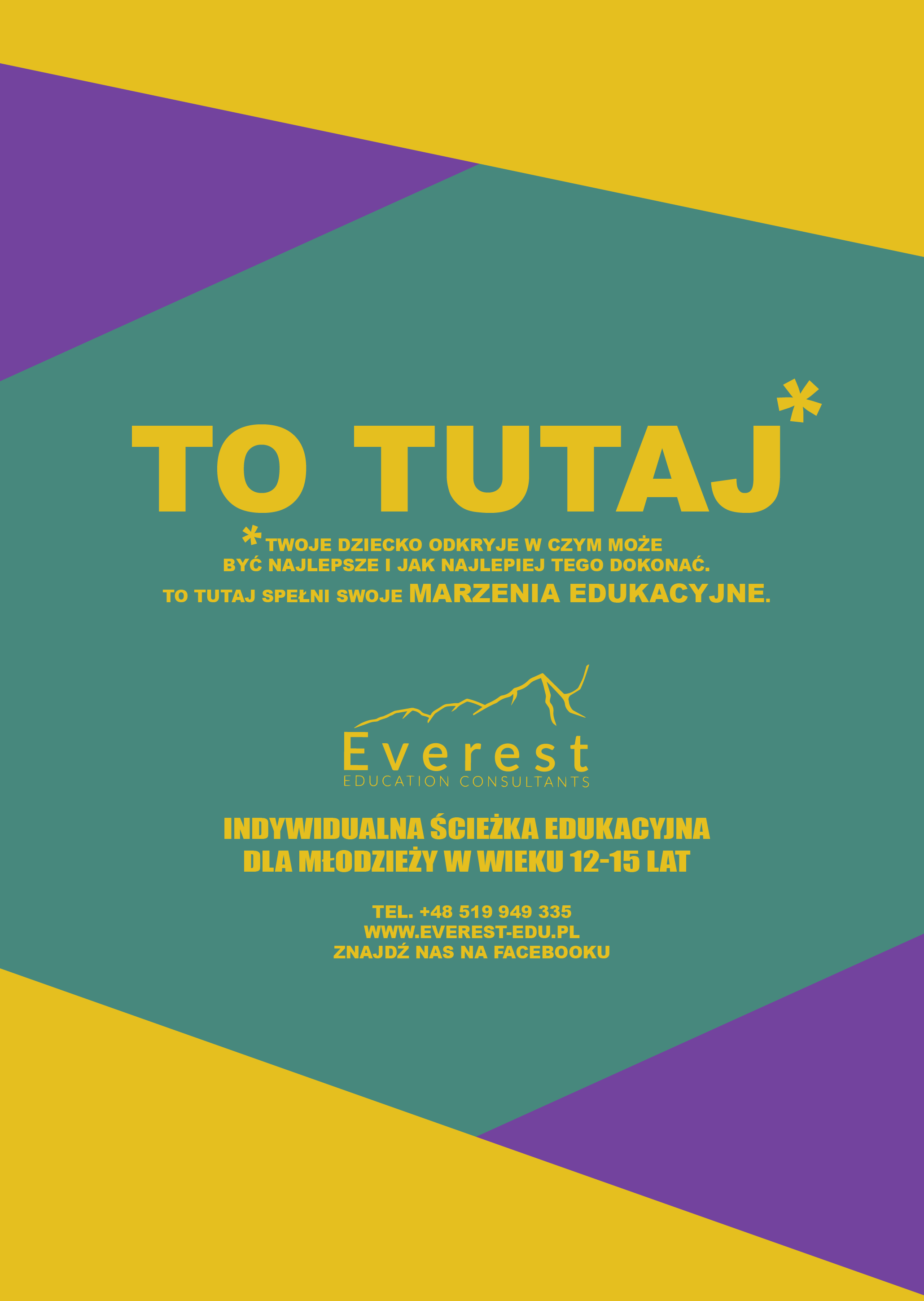 Program Everest - Indywidualna Ścieżka Edukacyjna dla Nastolatków