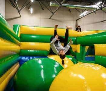Nowa atrakcja w parku trampolin SALTOS