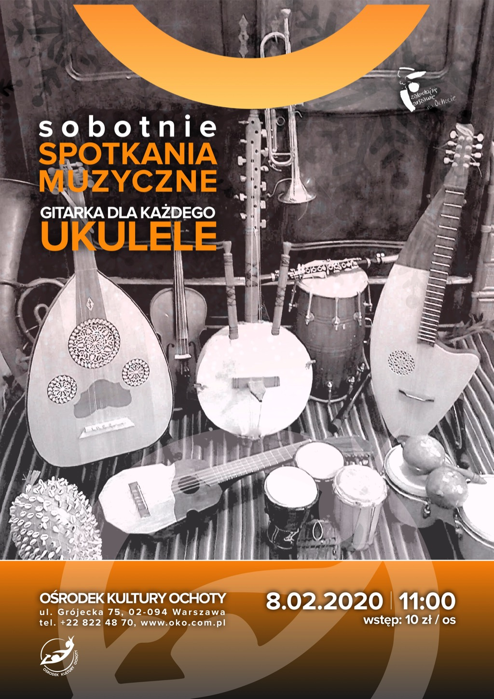 Sobotnie Spotkania Muzyczne: Gitarka dla każdego – ukulele