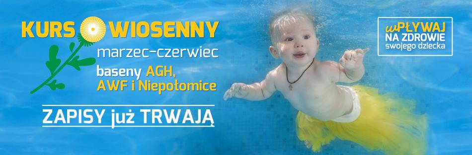 Zajęcia oswajania z wodą dla niemowląt - zapisy trwają!