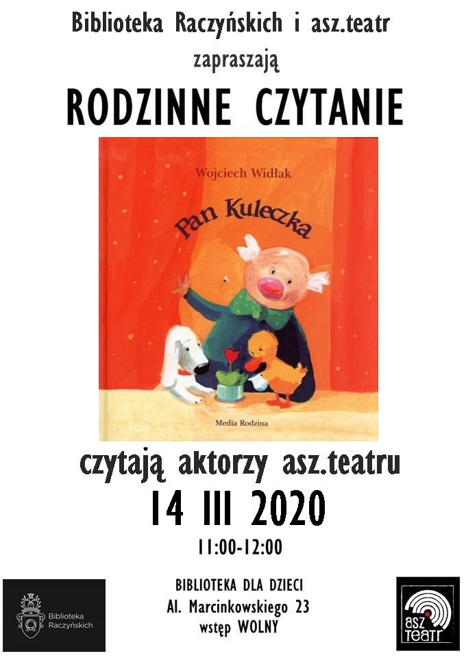 Rodzinne czytanie: Pan Kuleczka