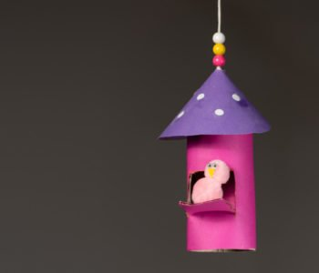 zabawy z rolek po papierze ptasi domek zabawa plastyczna dla dzieci