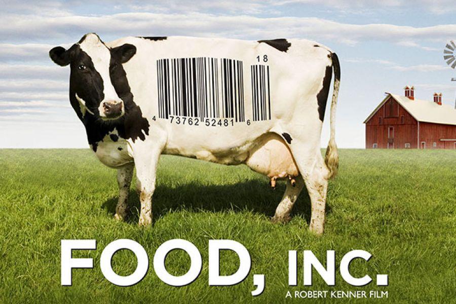 Korporacyjna żywność plakat