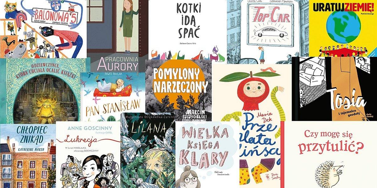 Konkursie na Najlepszą Książkę Dziecięcą Przecinek i Kropka 2019