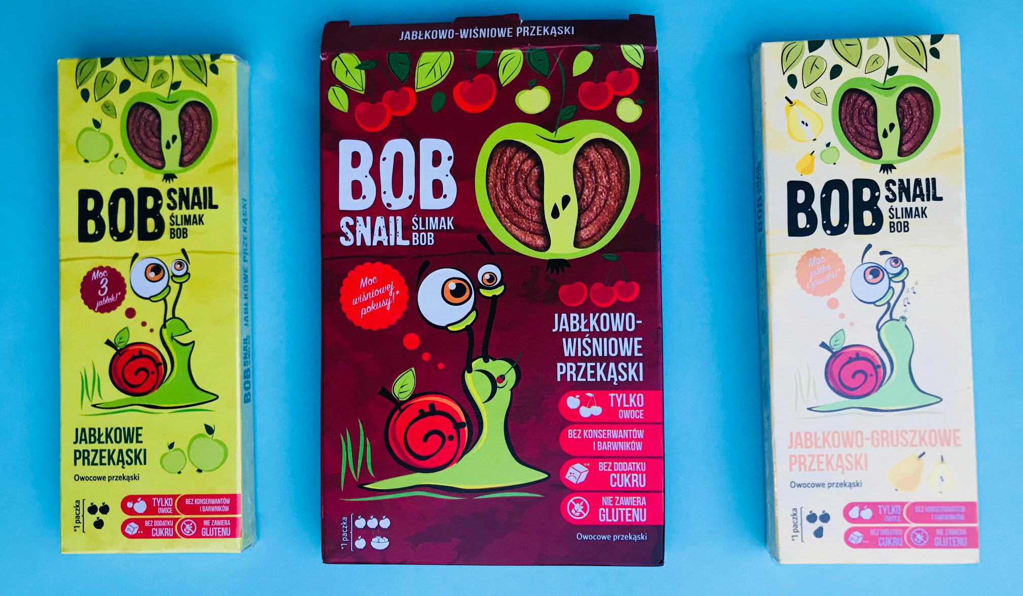 Ślimak Bob zdrowe słodycze