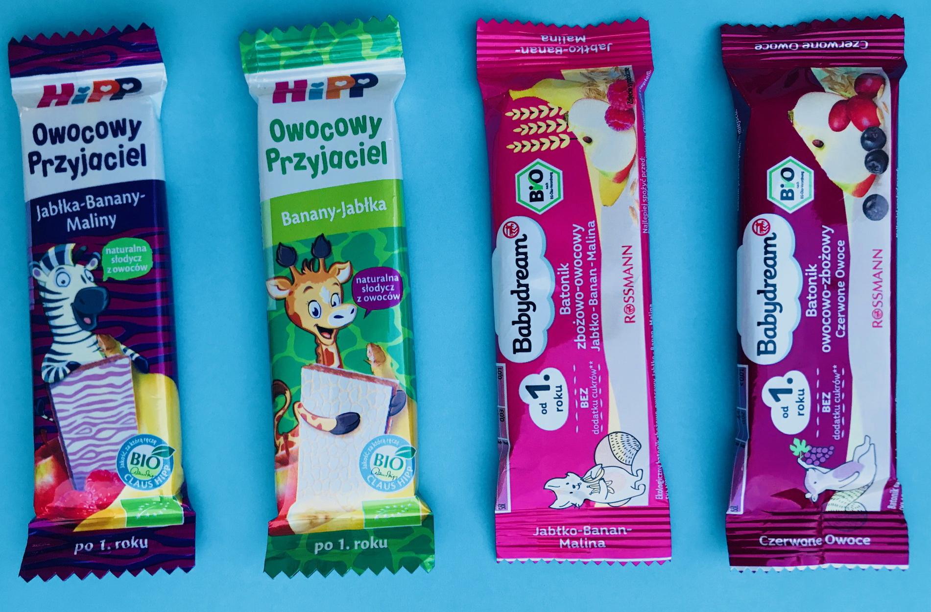 zdrowe słodycze batoniki