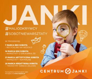 Najlepsze sobotnie poranki tylko w Centrum Janki!
