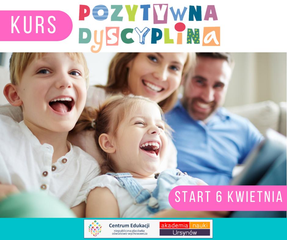 Kurs dla rodziców Pozytywna dyscyplina w Centrum Edukacji Migdałowa