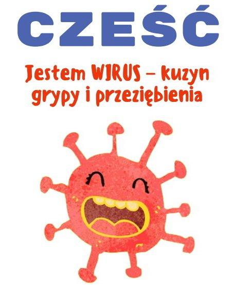 Książka dla dzieci o koronawirusie do druku