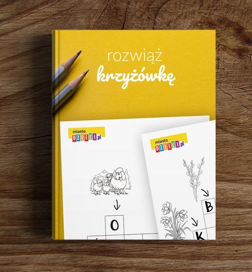Krzyżówki dla dzieci - bezpłatny ebook dla rodziców