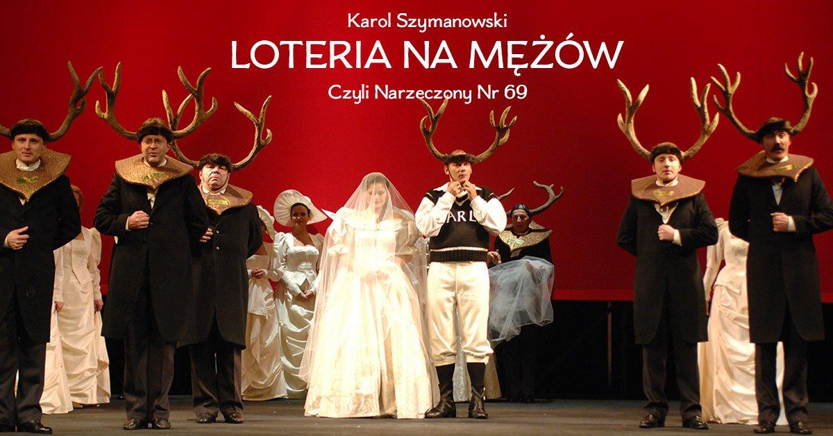 Premiera Loterii na mężów Karola Szymanowskiego na kanale YouTube Opery Krakowskiej