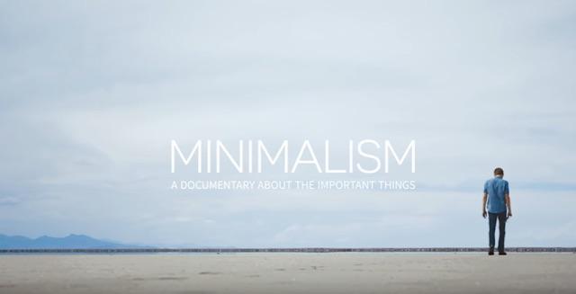 minimalizm plakat filmu