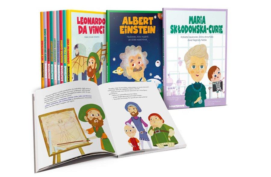 moi bohaterowie recenzja serii książek dla dzieci Burda