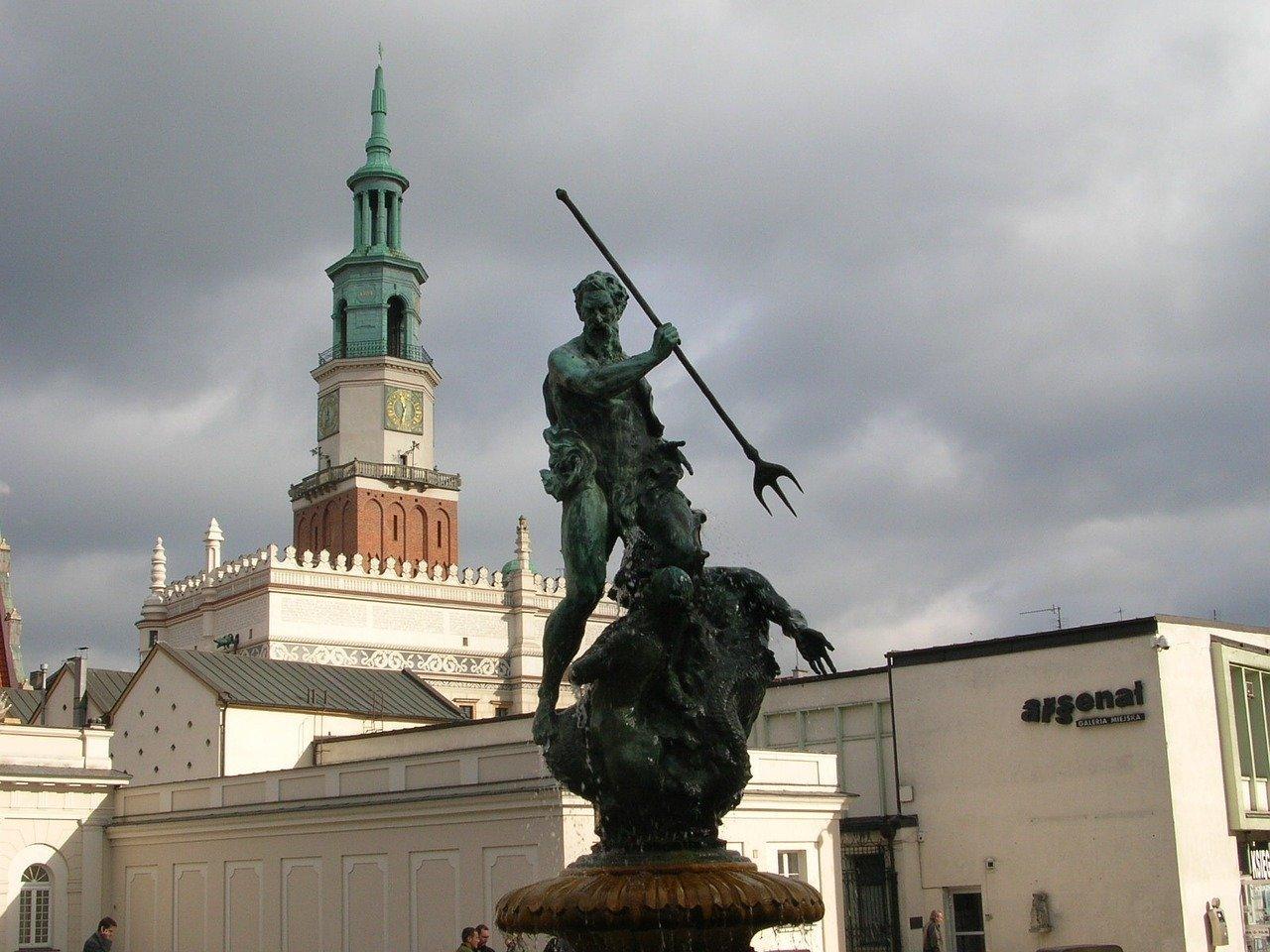 Fontanna Neptuna w Poznaniu
