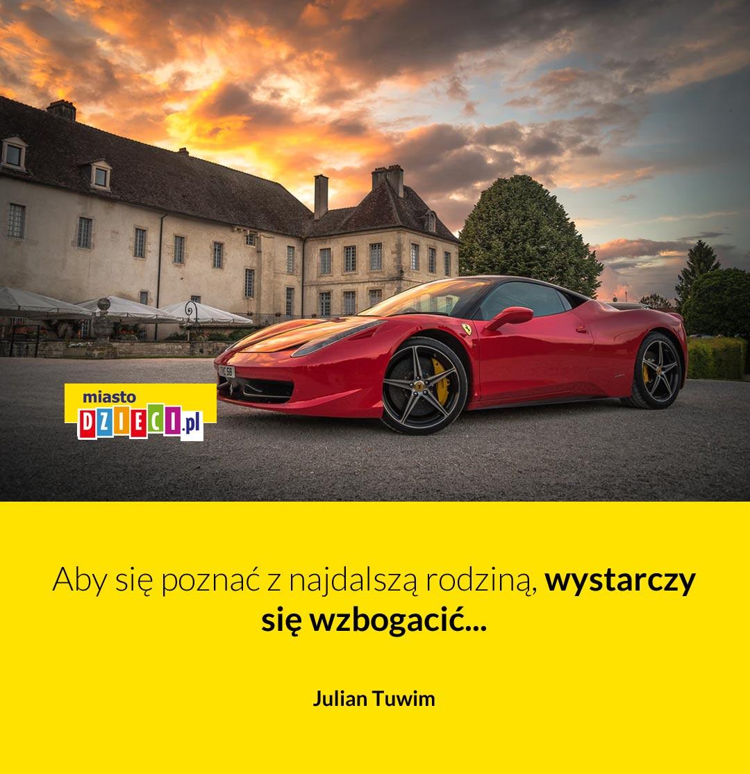 Śmieszne cytaty o rodzinie Julian Tuwim