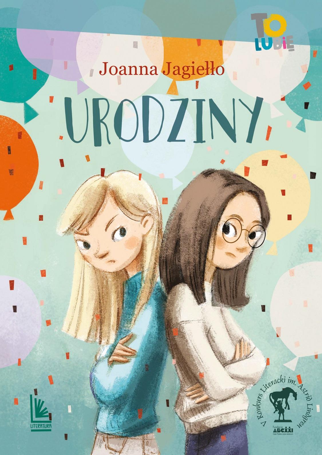 Urodziny - książka dla dzieci i młodzieży
