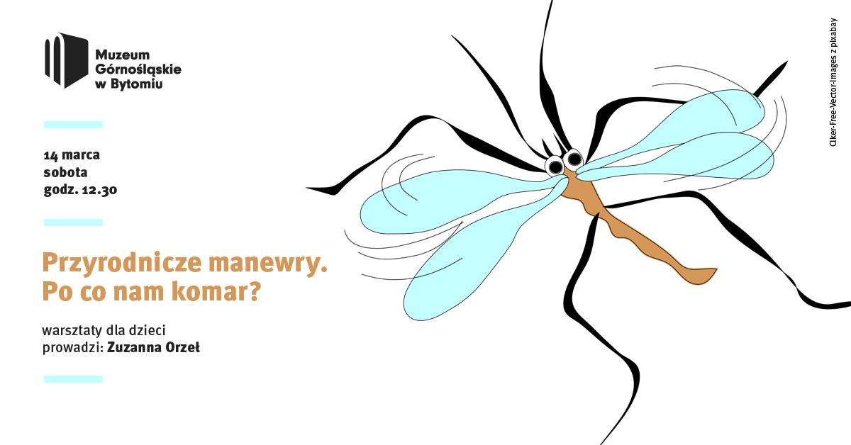 Przyrodnicze manewry. Po co nam komar? Bytom