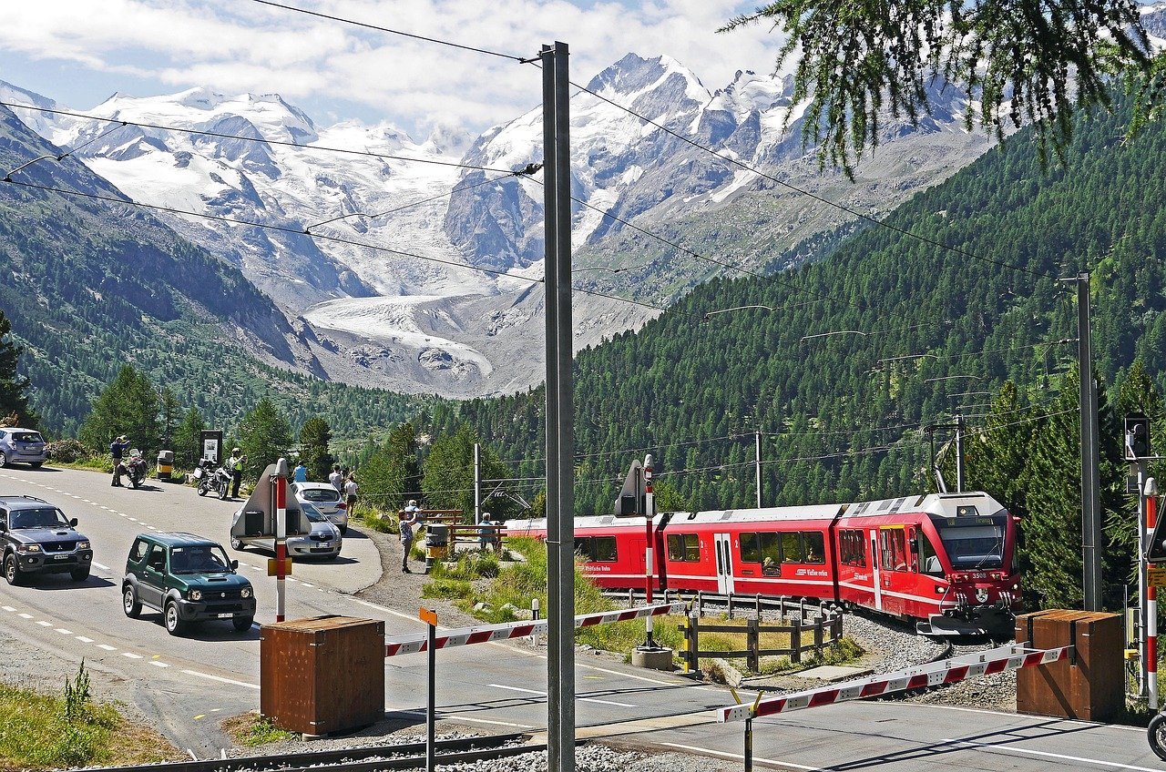 Podróż Bernina Express