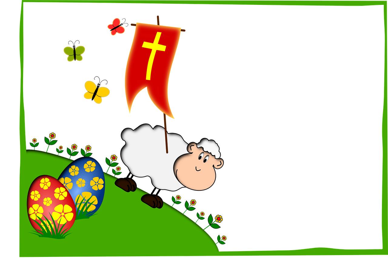 Wielkanoc baranek zagadki śmieszne dla dzieci