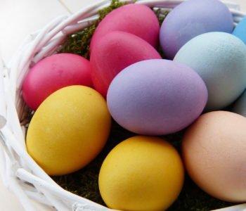 Proste łatwe życzenia wielkanocne dla dzieci, piosenki i wiersze na Wielkanoc