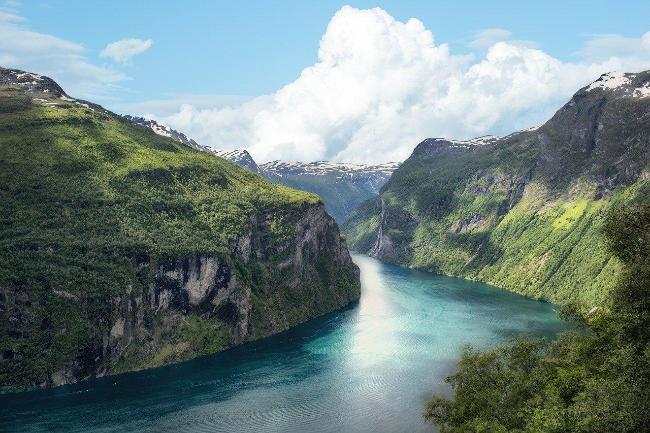 Norwegia fiord