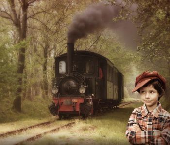 pociąg dziecko pixabay