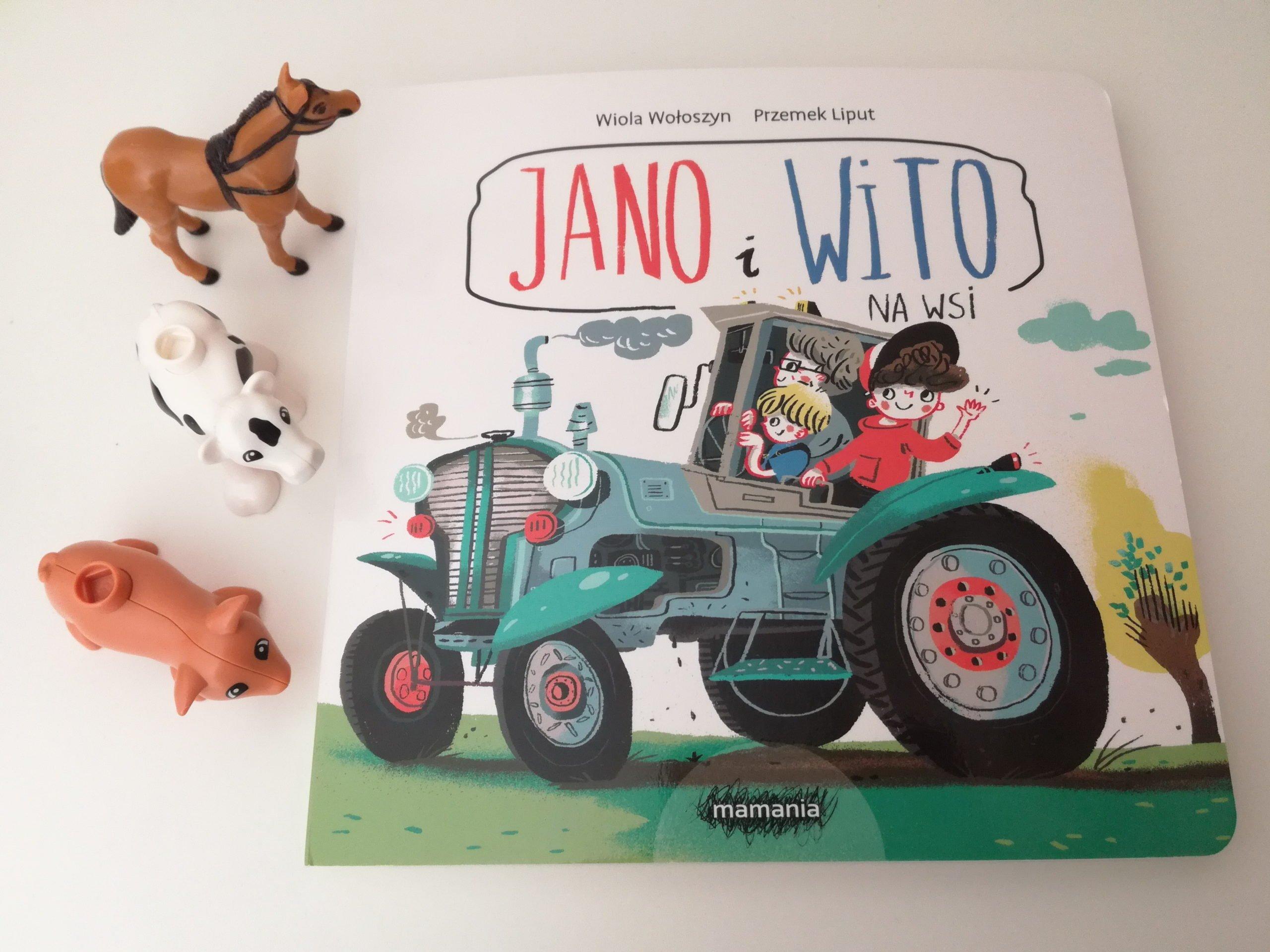 Jano i Wito. Na wsi opinie o książce dla dzieci