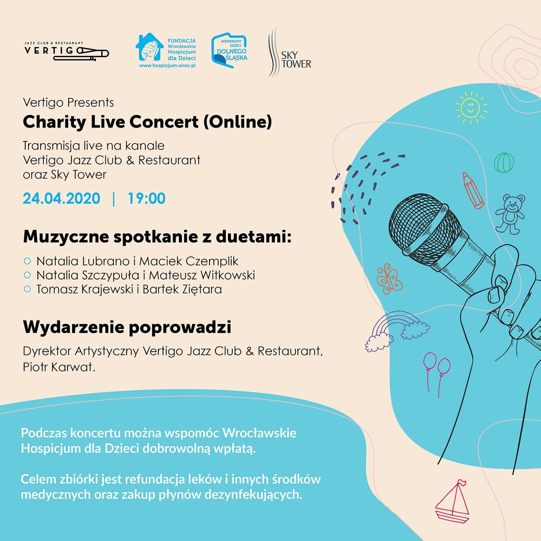 #zostańwdomu ze Sky Tower i weź udział w Charity Live Concert