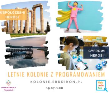 Mazurska przygoda – letnie kolonie z programowaniem z Centrum Edukacji Migdałowa