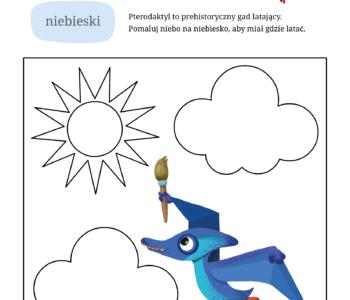 Nauka kolorów karty pracy do wydruku, darmowe malowanki online