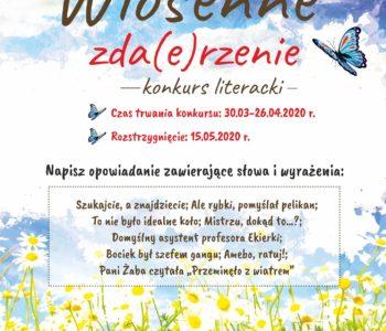 Wiosenne zda(e)rzenie - konkurs literacki