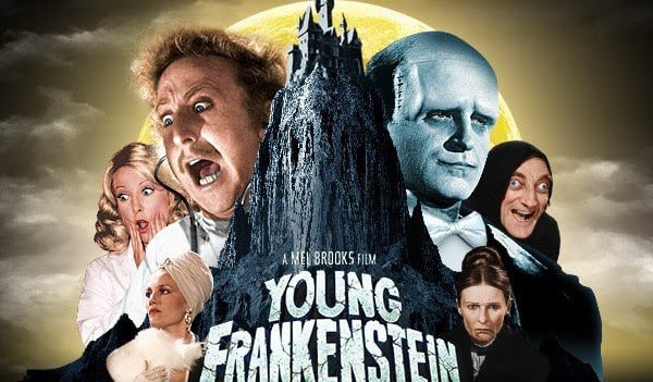 Młody Frankenstein plakat