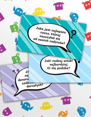 Gra Rozmowa z pytaniami  dla nastolatków
