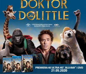 Doktor Dolittle – premiera 4K Ultra HD, Blu-Ray i DVD