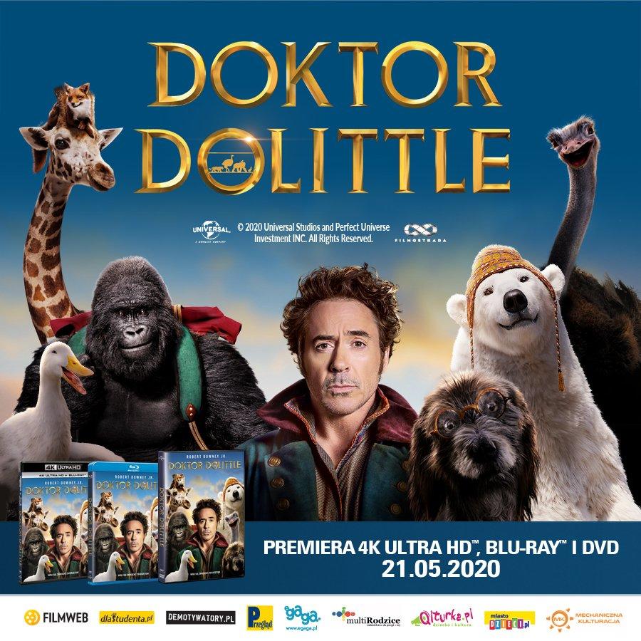 Doktor Dolittle - premiera DVD